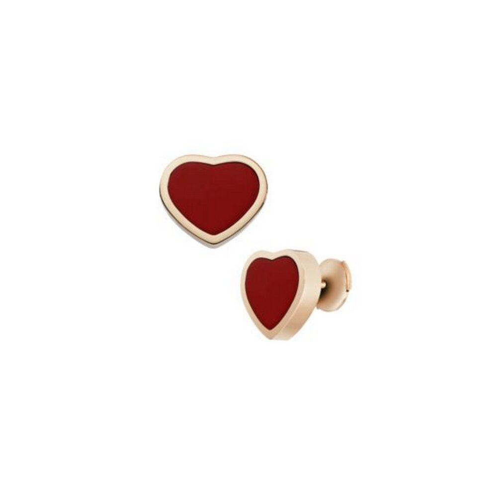 Серьги Chopard Happy hearts