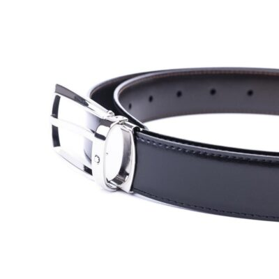 Ремень Montblanc Cintura nera – marrone reversibile