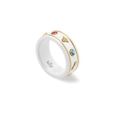 Кольцо Gucci Icon с драгоценными камнями